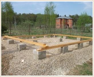 Фундамент из блоков 20х20х40 на пучинистых грунтах
