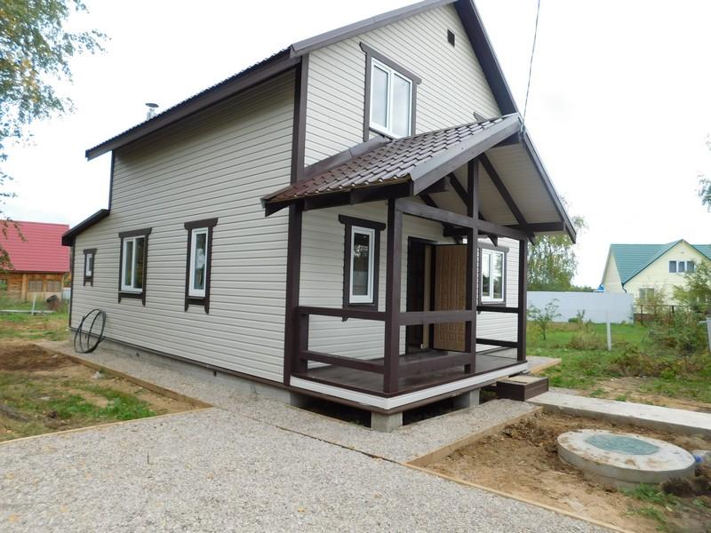 Готовые дома под ключ с участками недорого